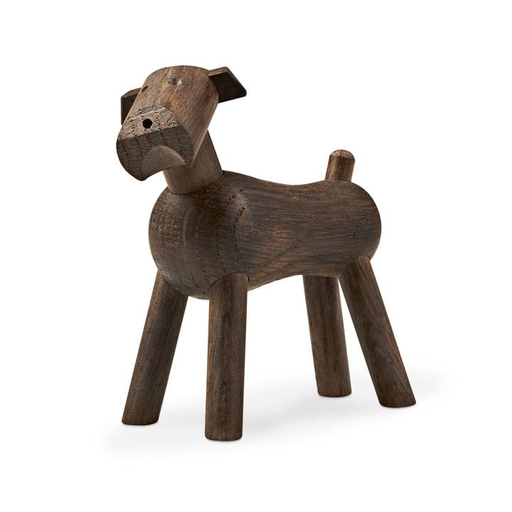 Kay Bojesen - Hund Tim in dunklem Holz