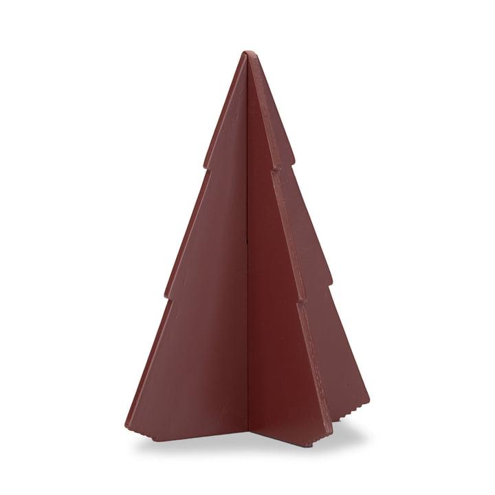 Skagerak - Spruce Tree 17 cm, oxide red