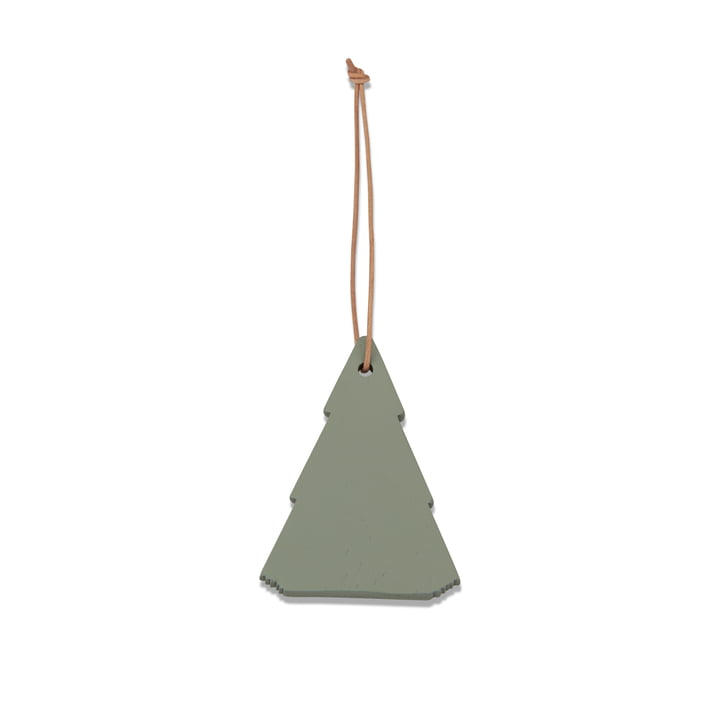 Skagerak - Spruce Tree Christbaumschmuck, slate grey