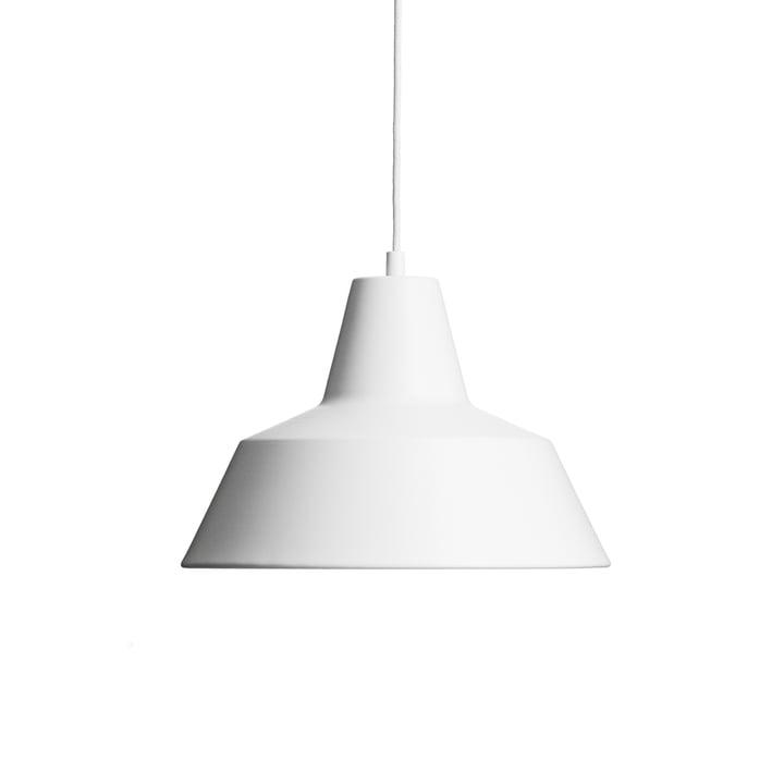 Made by Hand - Workshop Lamp W3 in matt weiß