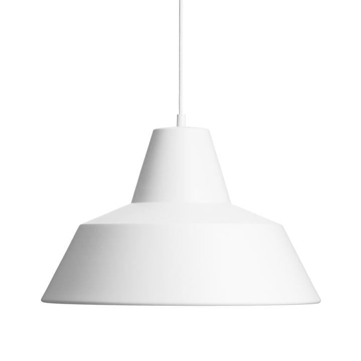 Made by Hand - Workshop Lamp W4 in matt weiß