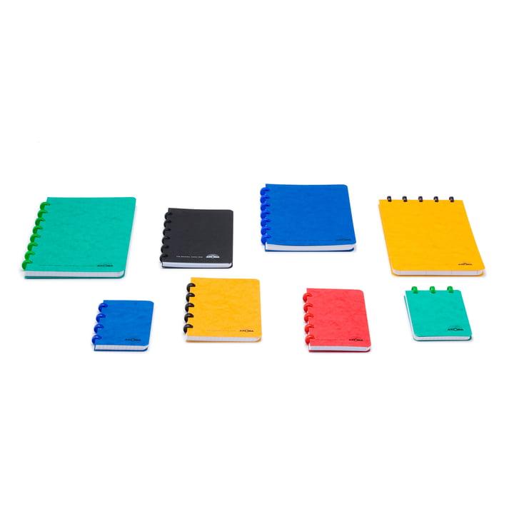 Atoma - Basic Notizbücher A5+ A6, verschiedene Farben