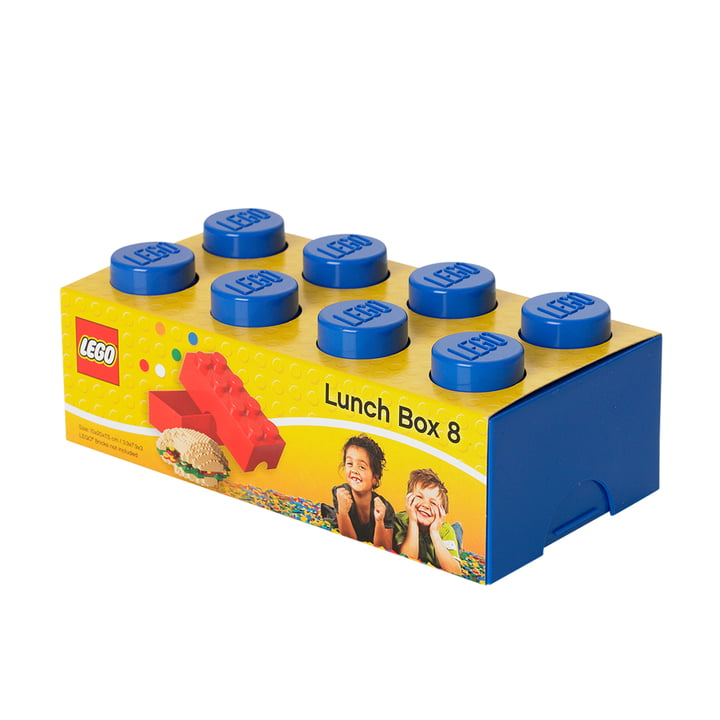 Lego - Lunch Box 8, blau