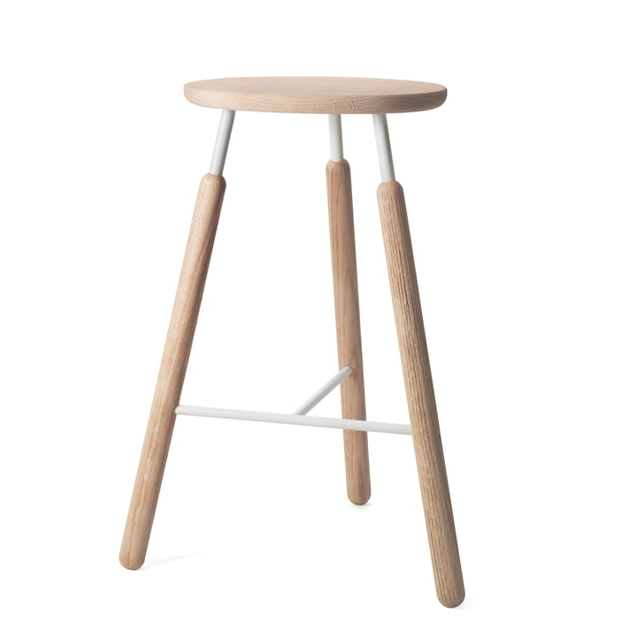 &Tradition - Raft Stool NA4 Barhocker, Eiche natur