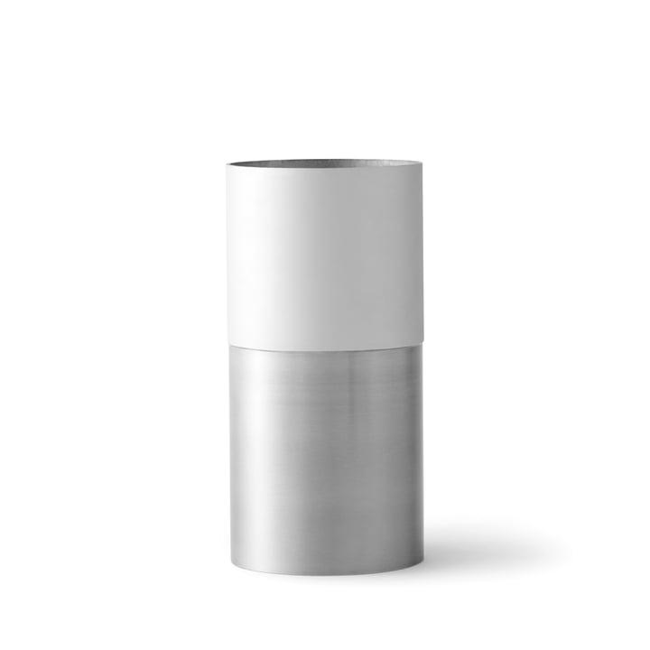 &Tradition - True Colour Vase LP1, weiß Aluminium