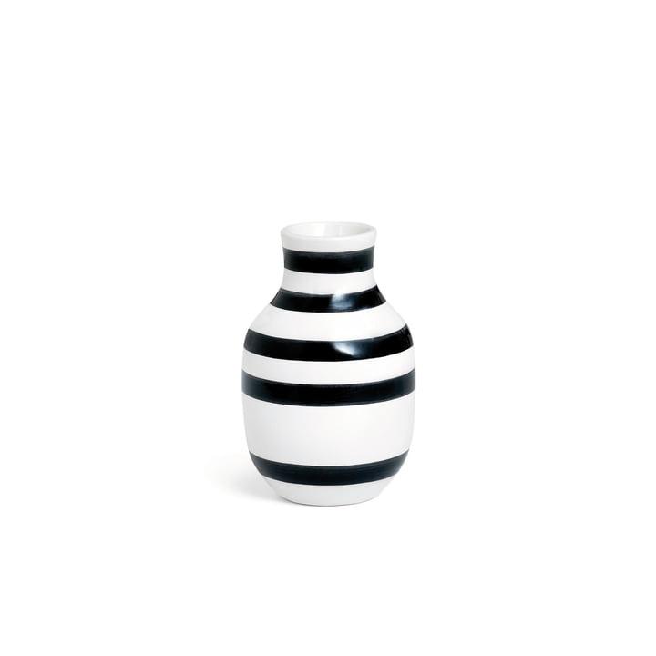 Omaggio Vase H 125 von Kähler Design in Schwarz / Weiß
