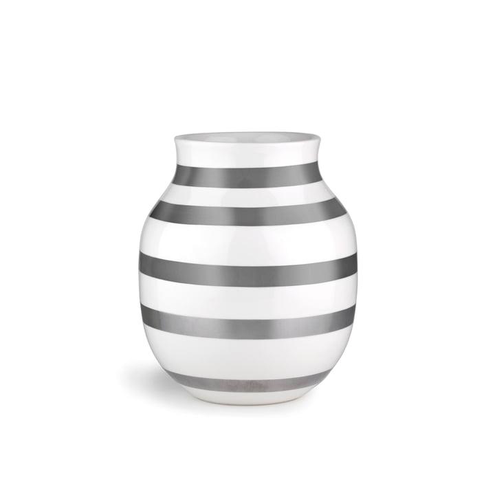 Omaggio Vase H 200 von Kähler Design in Silber