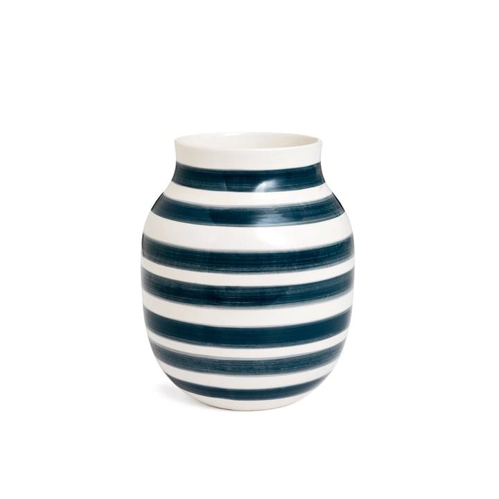 Omaggio Vase H 200 von Kähler Design in Granitgrau