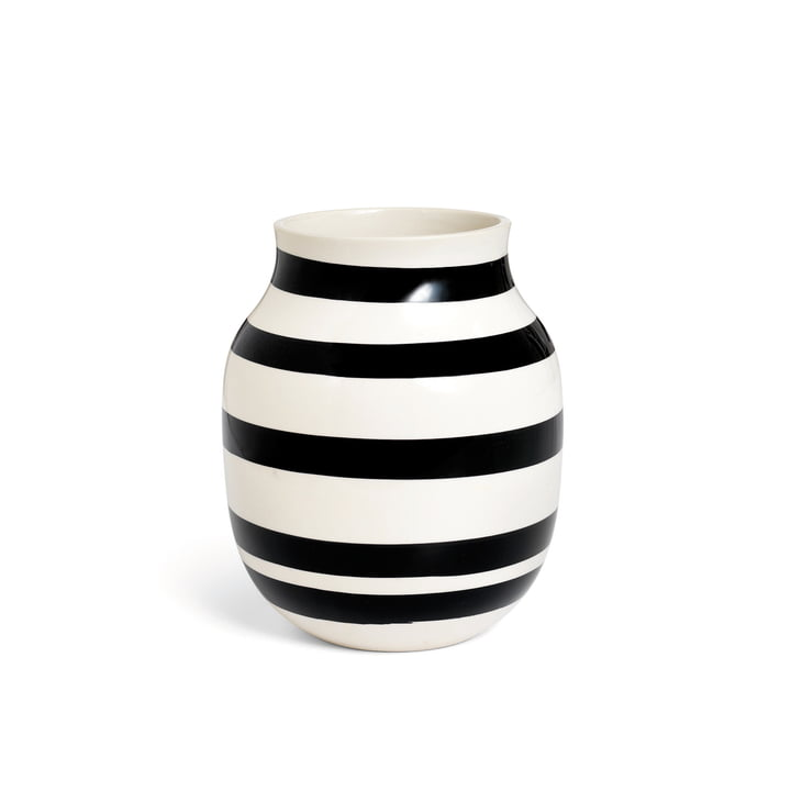 Omaggio Vase H 200 von Kähler Design in Schwarz