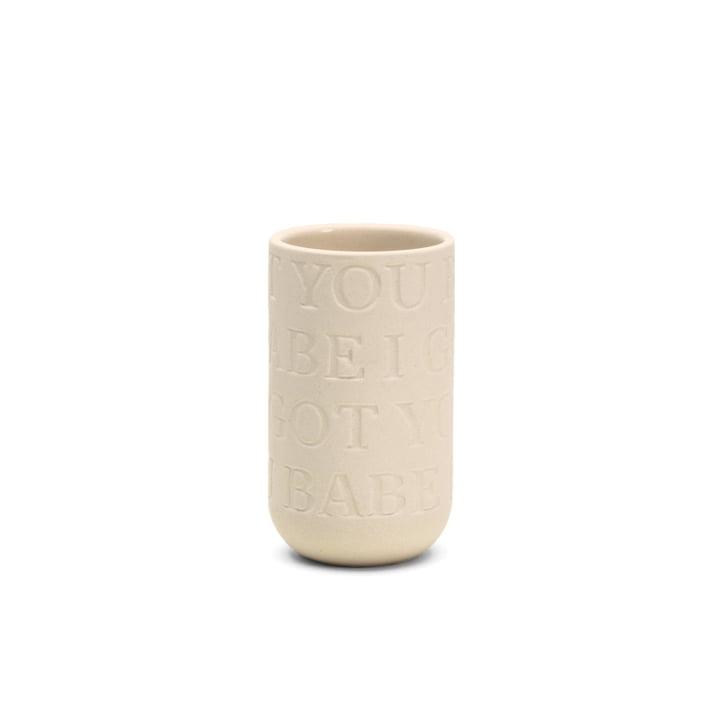 Kähler Design - Love Song Vase H 125 in Kalkweiß