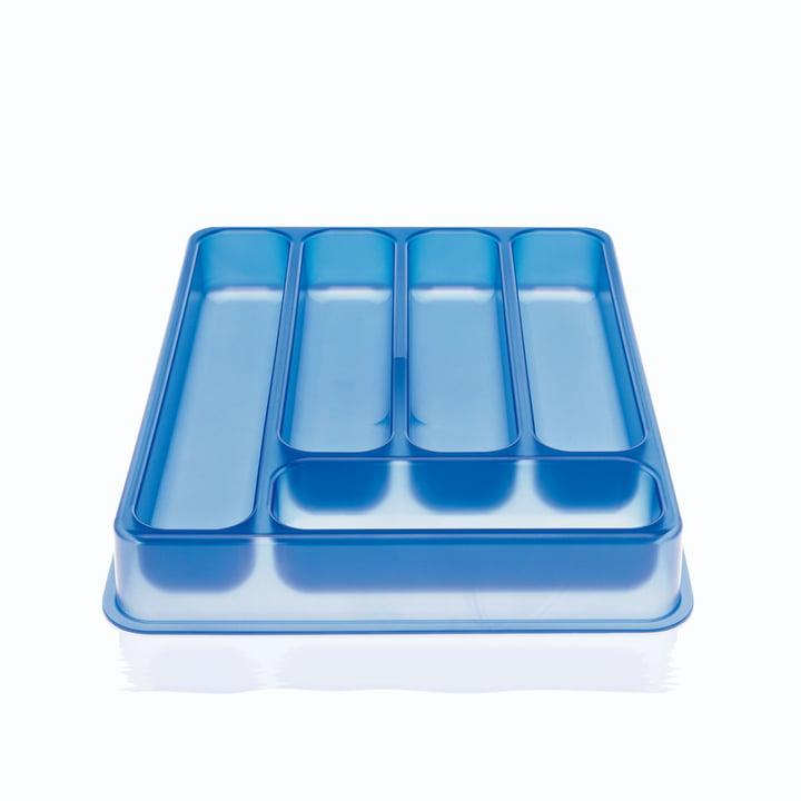 Magis - A, B, C... Besteckkasten, blau
