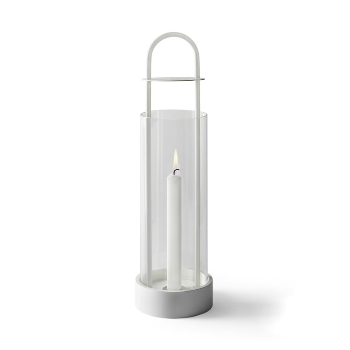Design House Stockholm - Lotus Windlicht in Weiß