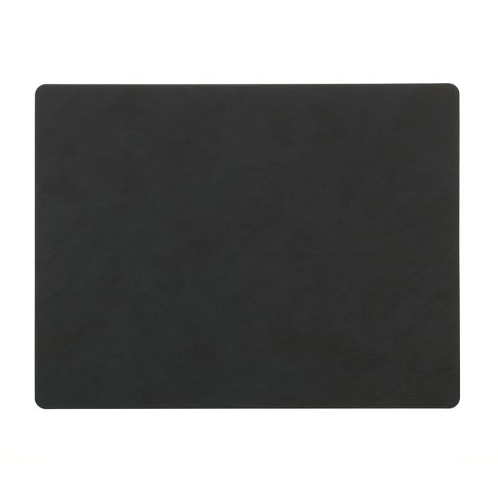 Tischset Square L 35 x 45 cm von LindDNA in Nupo schwarz