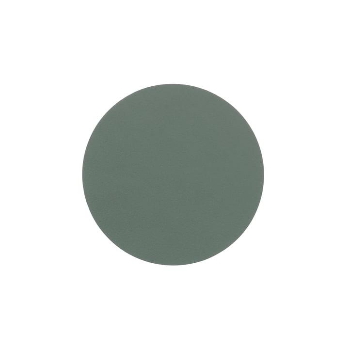 Glasuntersetzer rund Ø 10 cm von LindDNA in Nupo pastellgrün