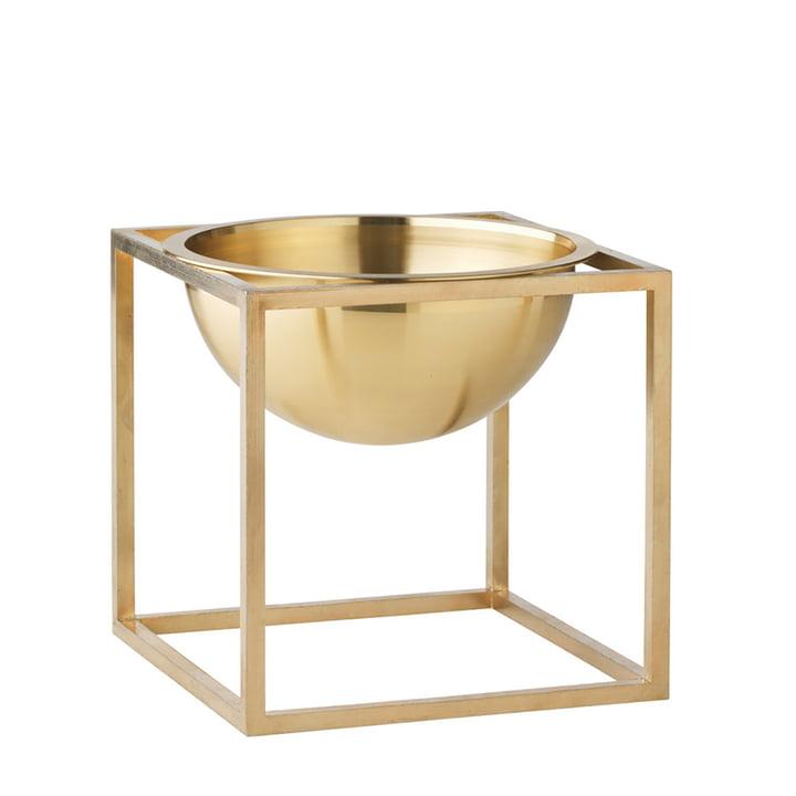 by Lassen - Kubus Bowl, klein, Messing