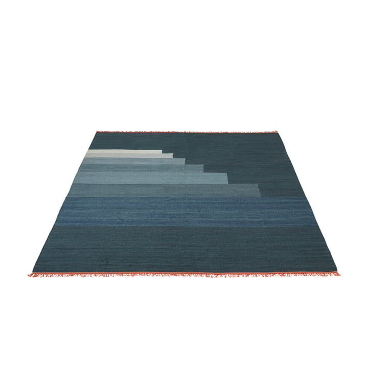 Another Rug AP3 Teppich, 170 x 240 cm von &Tradition in Gewitterblau