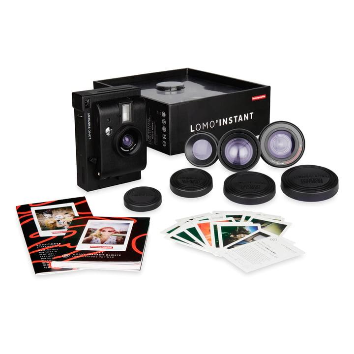 Lomo 'Instant Camera Lens Kit von Lomography in Schwarz
