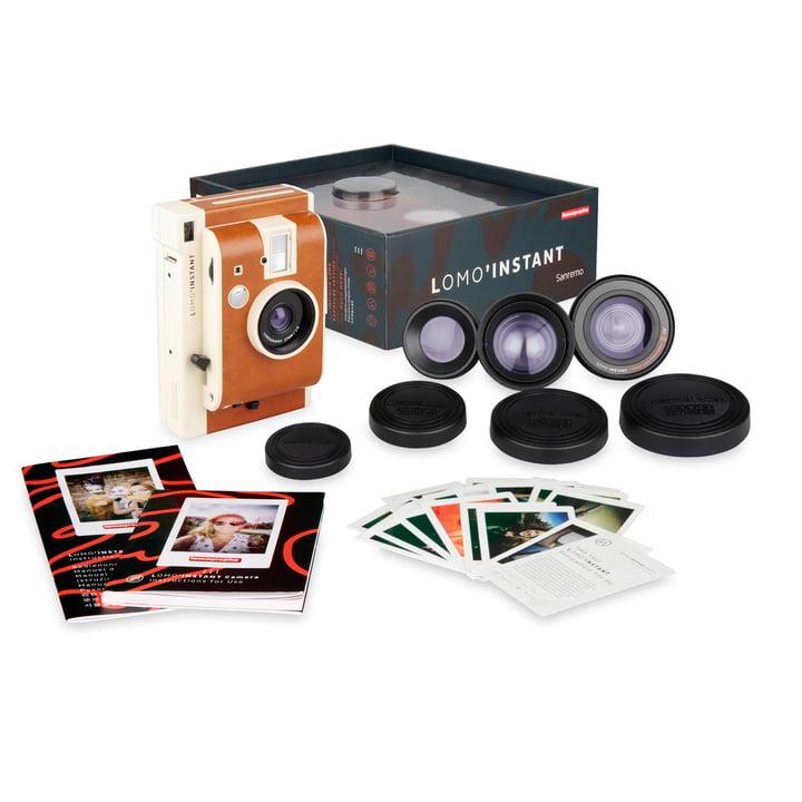 Lomo 'Instant Camera Lens Kit von Lomography in der San Remo Version
