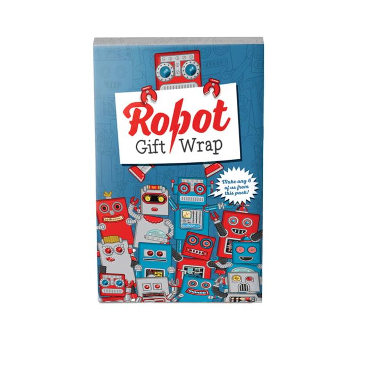 Robot Gift Wrap von Luckies