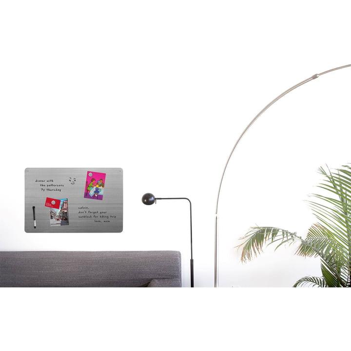 Magnetisches Memo-Board für Fotos und Notizen