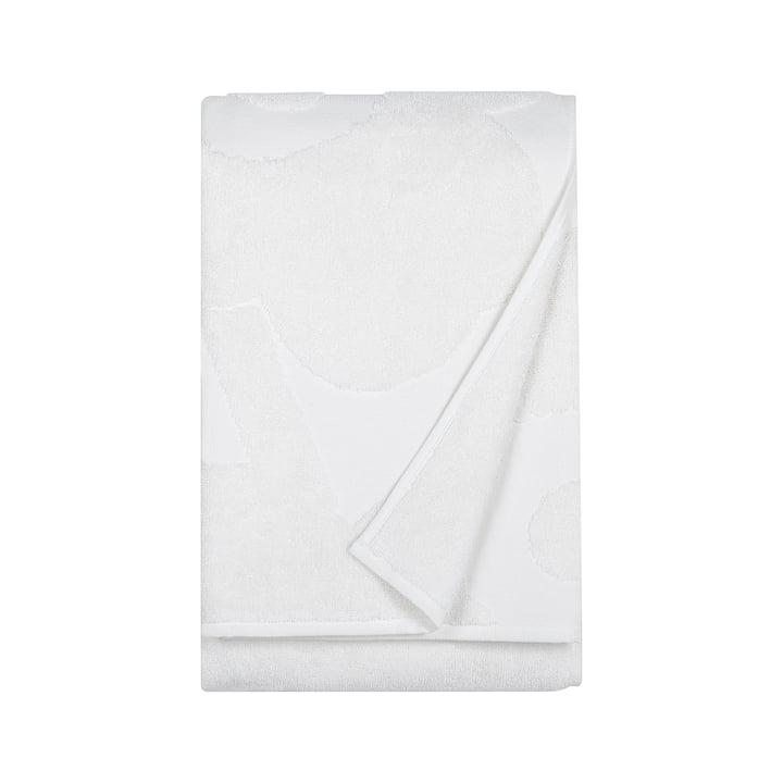 Marimekko - Unikko Solid Badetuch 75 x 150 cm in Weiß