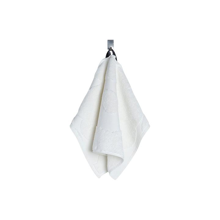 Unikko Solid Gästehandtuch 30 x 50 cm von Marimekko in Weiß