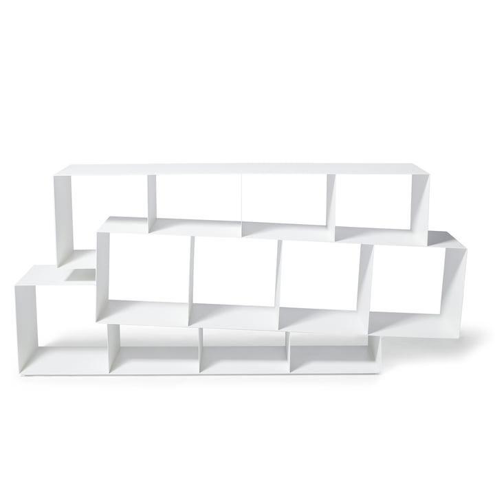 Squilibri Bücherregal von Skitsch in Weiß