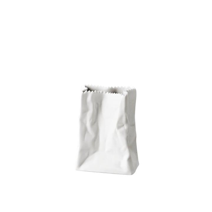 Rosenthal - Tütenvase, 14 cm, weiß-matt poliert