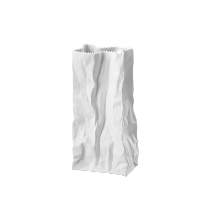Rosenthal - Tütenvase, 22 cm, weiß-matt poliert