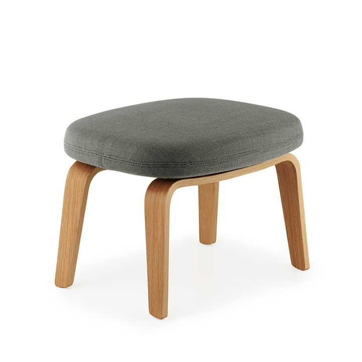 Era Fußhocker von Normann Copenhagen aus Eiche in Breeze Fusion 4001