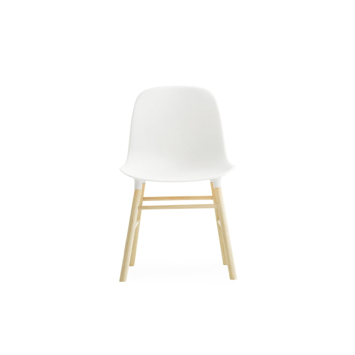 Form Chair Miniatur von Normann Copenhagen aus Eiche in Weiß