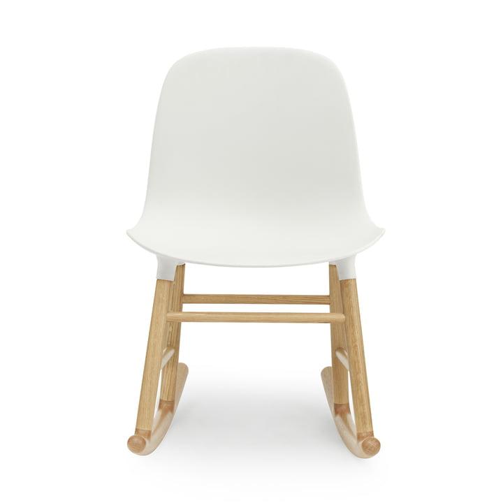 Form Rocking Chair von Normann Copenhagen aus Eiche in Weiß
