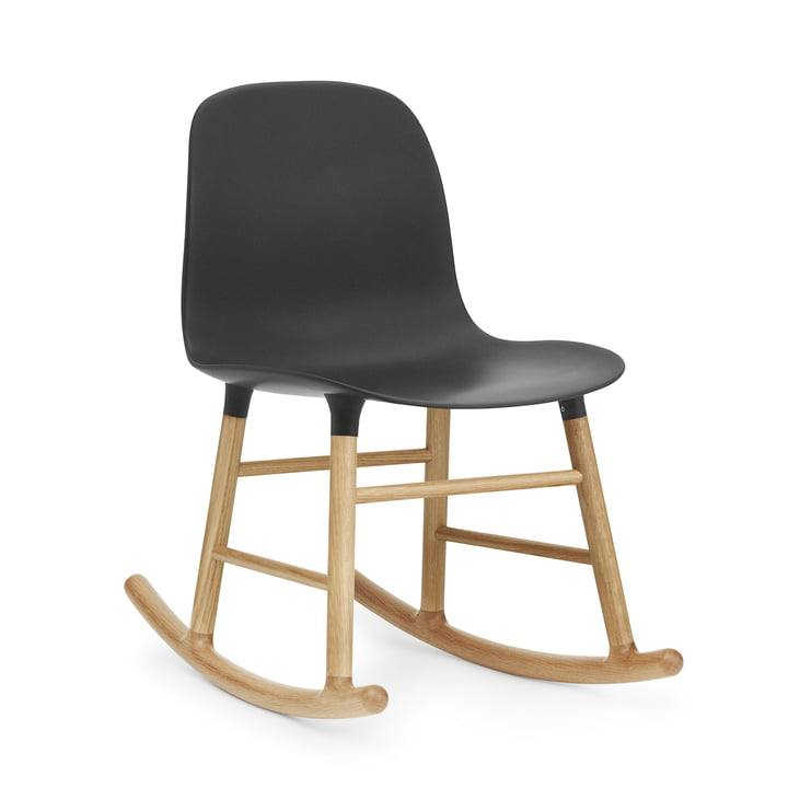 Form Rocking Chair von Normann Copenhagen aus Eiche in Schwarz