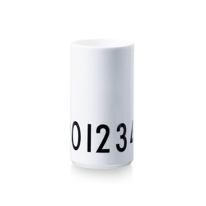 Vase 0-9 von Design Letters in Klein