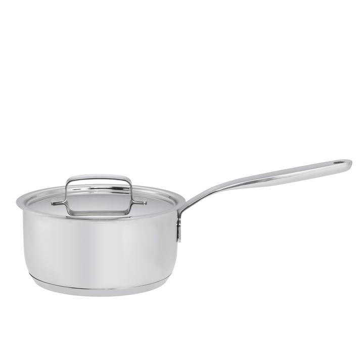 Fiskars - All Steel Stielkasserole mit Deckel, 1.5 l / Ø 16 cm