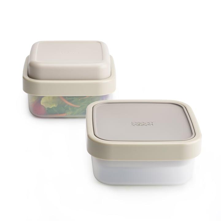 GoEat Salatbox von Joseph Joseph in Grau