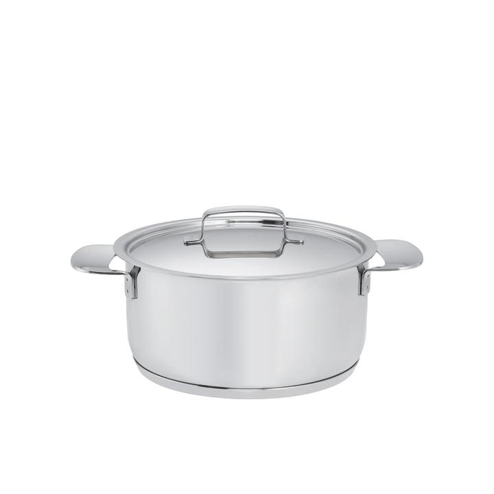 Fiskars - All Steel + Topf mit Deckel, 2,5l / Ø 18 cm