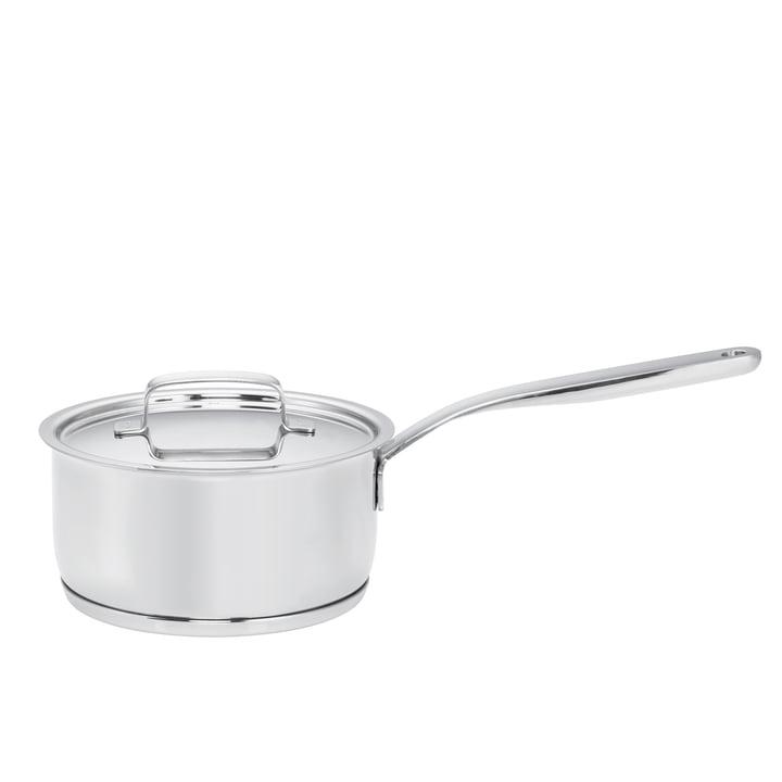 Fiskars - All Steel + Stielkasserole mit Deckel, 1.5 l / Ø 16 cm