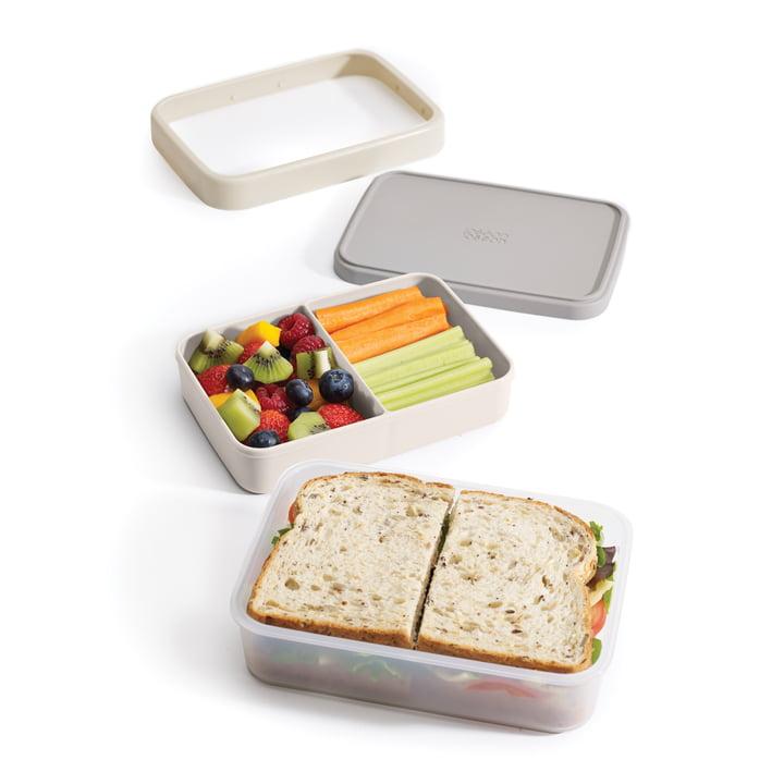 Lunchbox mit mehreren Fächern
