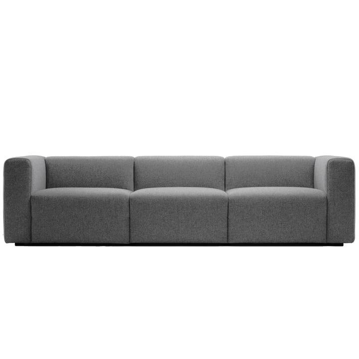 Mags Sofa 3-Sitzer, Kombination 1 von Hay in Hellgrau (Hallingdal 153)