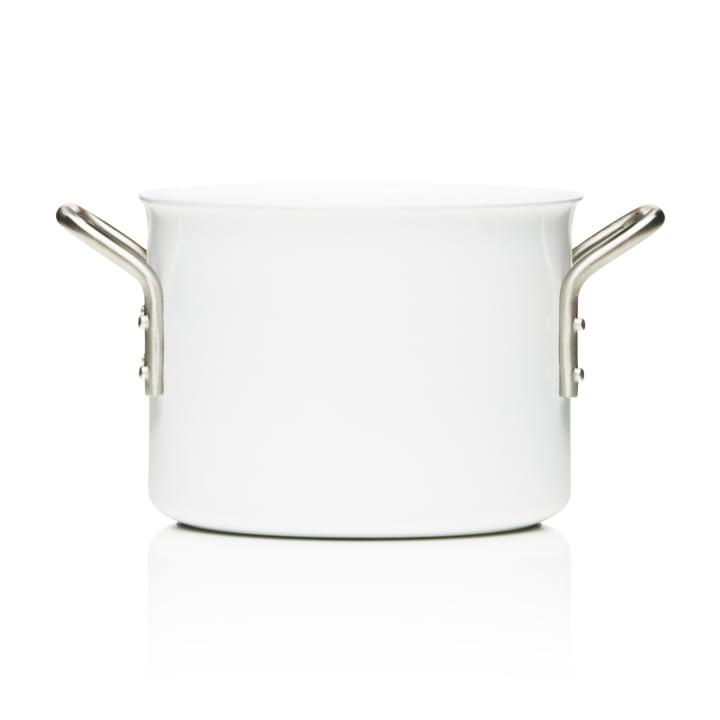 White Line Kochtopf mit einem Fassungsvermögen von 2.5 l von Eva Trio