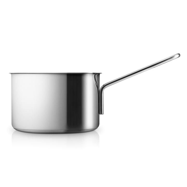 Stainless Steel Stielkasserolle mit einem Fassungsvermögen von 1.8 l von Eva Trio