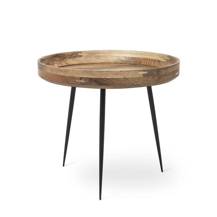 Bowl Table in Groß von Mater aus Mangoholz in Natur