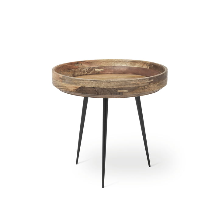 Bowl Table in Klein von Mater aus Mangoholz in Natur
