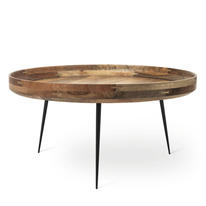 Bowl Table in XL von Mater aus Mangoholz in Natur