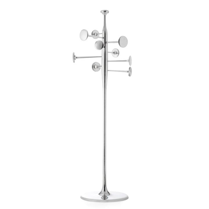 Mater - Trumpet Gardrobenständer, Aluminium