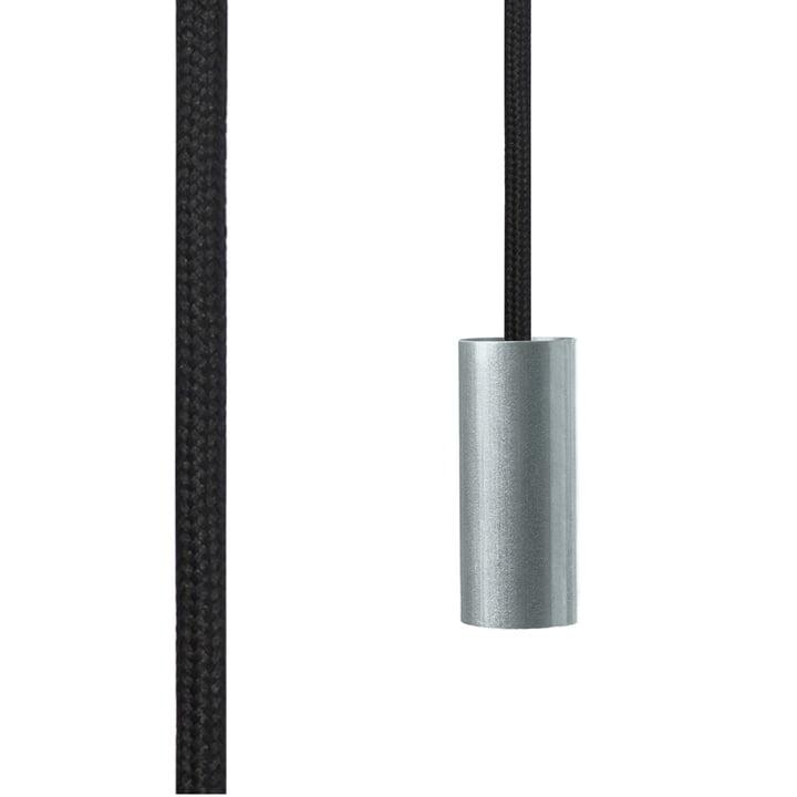 NUD Collection - Tube Foil Aluminium gebürstet, Raven (TT-09)