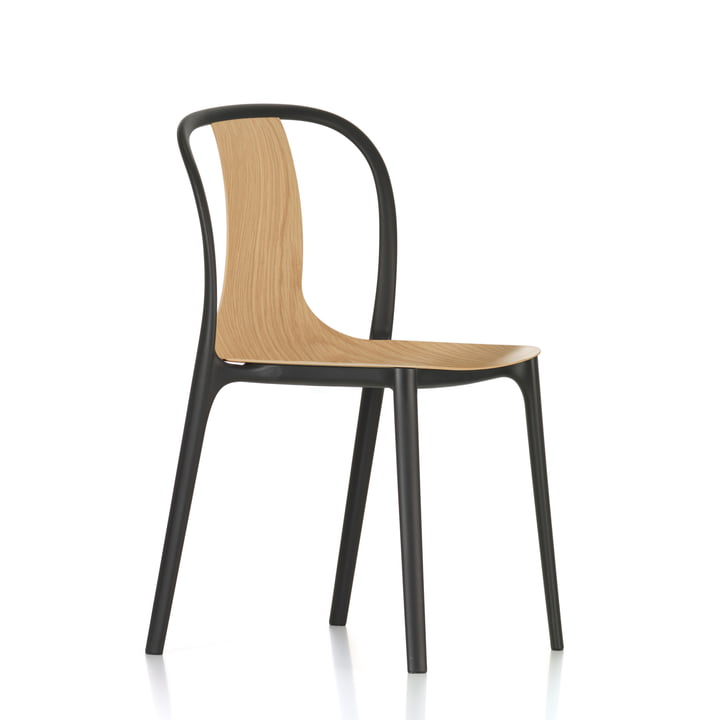 belleville chair wood von vitra im wohndesign shop. Black Bedroom Furniture Sets. Home Design Ideas