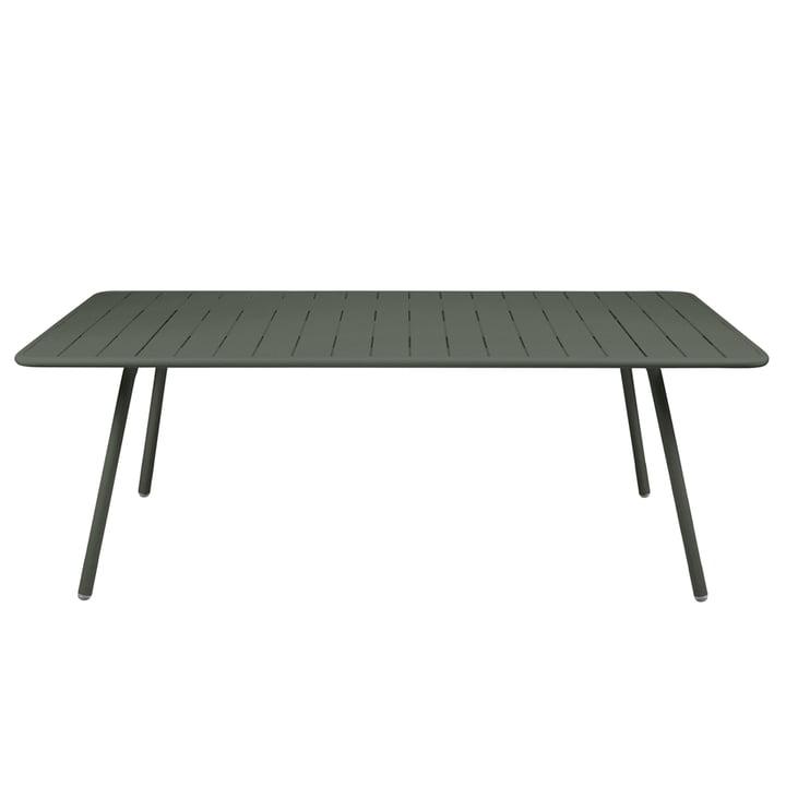 Luxembourg Tisch 100 x 207 cm von Fermob in Rosmarin