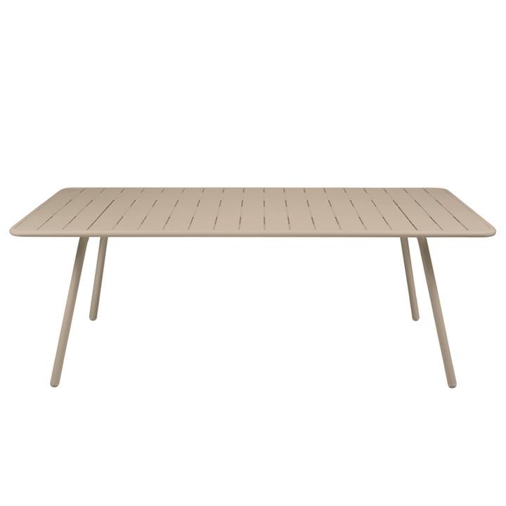 Luxembourg Tisch 100 x 207 cm von Fermob in Muskat